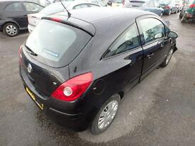 Vauxhall Corsa D Drivers door 3 door model in black