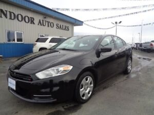 2015 Dodge Dart SE 2.0L 4CYL 6SPD MANUAL ONLY 24585 KMS