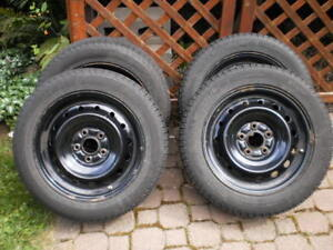 Michelin snow tires with wheels