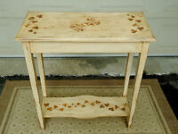 CONSOLE TABLE, HALL, SIDE TABLE