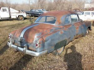 1952 PONTIAC BUSINESS COUPE PROJECT