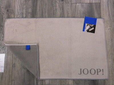 JOOP! Badematte Classic 1600 Badvorleger Badteppich Duschvorleger Fb.37 Sand