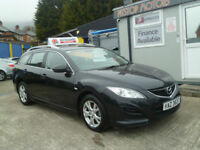 2012 MAZDA 6 TS D ESTATE {ONLY 78 K} ...ZERO DEPOSIT FOR FINANCE ON ALL CARS