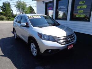 2013 Honda CR-V EX-L AWD for only $205 bi-weekly all in!