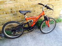 "BOY'S BIKE WITH SUSPENSION (20"" WHEELS)"