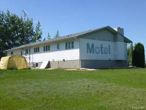 For Sale: Motel and Residence in Gladstone MB