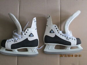 daoust national 301 ice skates special edition new condition