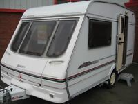 SWIFT SILHOUETTE CLASSIC Compact,lightweight 2 berth.
