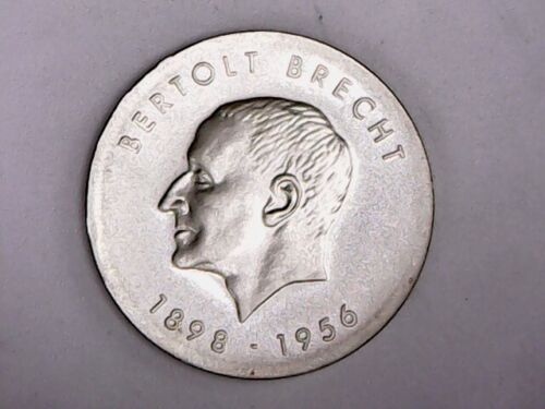 1973 East Germany Silver 10 Mark - BU