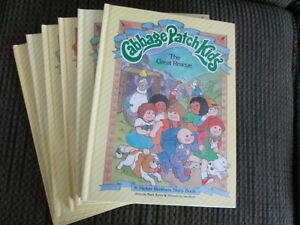 Six Vintage Cabbage Patch Books -in good condition