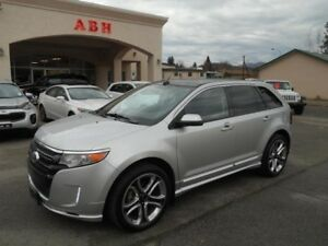2013 FORD EDGE - 4 Door Station Wagon SPORT AWD
