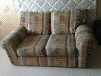 Nice couch and love seat FREE