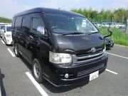 2008 Toyota Hiace 10 Seater 4WD GL Luxury Version 4WD Black Automatic 10 Seater Concord Canada Bay Area Preview