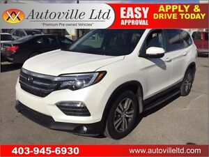 2016 HONDA PILOT EX-L NAVIGATION BACKUP CAMERA LEATHER 7 SEATER