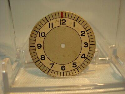 Vintage WW2 era c.1940's Wrist Watch Dial Possibly Sterile Weems