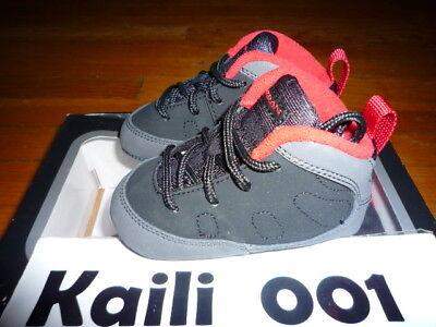 30e36865d5d2 Jordan 9 Retro (GP) (TD) Size 4c Charcoal 401843-005 First Baby Soft  bottoms B