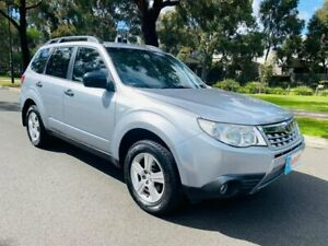 2012 Subaru Forester S3 MY12 X AWD Luxury Edition Silver 4 Speed Sports Automatic Wagon Maidstone Maribyrnong Area Preview