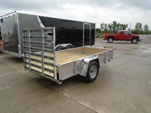 5x10 QUALITY ALUMINUM UTILITY - SOLID SIDES - PRICED TO SELL! London Ontario image 2