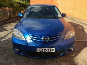 2005 Mazda 3 BK1031 SP23 Electric Blue 5 Speed Manual Hatchback Yagoona Bankstown Area Preview