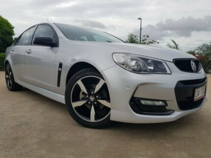 2016 Holden Commodore VF II MY16 SV6 Black Silver 6 Speed Sports Automatic Sedan Garbutt Townsville City Preview