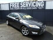 2010 Ford Mondeo MB MY11 Zetec PwrShift TDCi Grey 6 Speed Sports Automatic Dual Clutch Hatchback Old Reynella Morphett Vale Area Preview