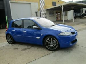 2008 Renault Megane II B84 Phase II Sport 175 Blue 6 Speed Manual Hatchback Moorooka Brisbane South West Preview