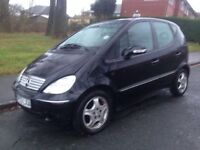 Spares or repairs 2003 Mercedes A170 CDI Automatic