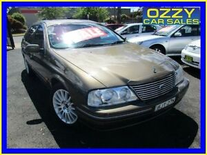 2000 Ford Fairlane Auii Ghia 75th Anniversary Sand Storm 4 Speed Automatic Sedan Minto Campbelltown Area Preview