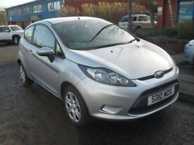 FORD FIESTA 1.2 EDGE 3d 59 BHP IMMACULATE CONDITION (silver) 2010
