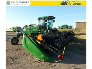 2014 John Deere W150 Windrowers