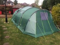 Horizon 8 Family Tent, Good Condition, Including Porch Awning