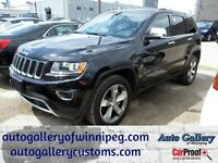 2015 Jeep Grand Cherokee LTD 4X4*Lthr/NAV/20s