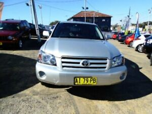 2006 Toyota Kluger MCU28R Upgrade CV (4x4) Silver 5 Speed Automatic Wagon Five Dock Canada Bay Area Preview