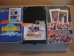 Sports Cards unopened
