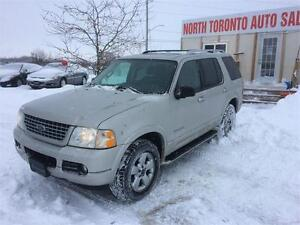 2004 FORD EXPLORER LIMITED - LEATHER - 4X4 - HEATED SEATS