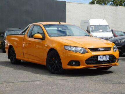 2014 Ford Falcon FG MkII XR6 Ute Super Cab Orange 6 Speed Manual Utility Fawkner Moreland Area Preview
