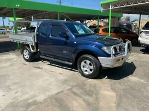 2010 Nissan Navara STX Space Cab 4x4 Blue 6 Speed Manual Spacecab Casino Richmond Valley Preview