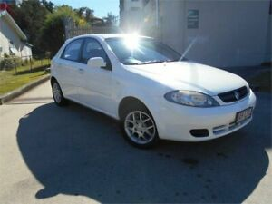 2008 Holden Viva JF MY08 White 4 Speed Automatic Hatchback Southport Gold Coast City Preview
