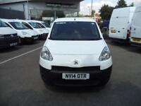 Peugeot Partner L1 850SE 1.6HDi 92PS Van Euro 5 DIESEL MANUAL WHITE (2014)