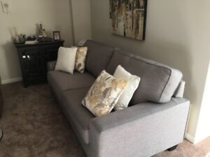 Sofa and Chair for Living or Family Room
