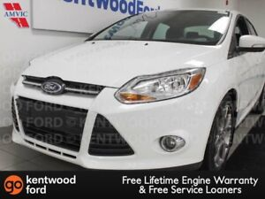 2014 Ford Focus SE FWD with heated seats in snow white