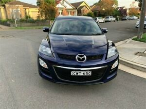 2010 Mazda CX-7 ER MY10 Classic (FWD) Blue 5 Speed Auto Activematic Wagon