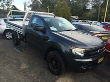 2013 Ford Ranger  Charcoal 5 Speed Manual Cab Chassis Springwood Blue Mountains Preview