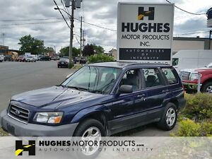 2005 Subaru Forester X Wagon | Privacy Glass | Roof Rails