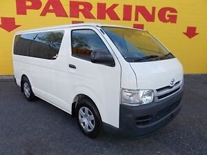 2009 Toyota Hiace TRH201R MY10 LWB White 4 Speed Automatic Van Winnellie Darwin City Preview