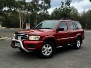 2000 Nissan Pathfinder WX II ST Red 4 Speed Automatic Wagon Mile End South West Torrens Area Preview