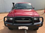 2003 Toyota Hilux VZN167R MY02 Red Mica Metallic 5 Speed Manual Utility Stuart Park Darwin City Preview
