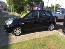 2011 Nissan Micra K13 ST Black 4 Speed Automatic Hatchback Edgeworth Lake Macquarie Area Preview