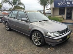 1991 Honda Civic GL Charcoal 4 Speed Automatic Sedan Springwood Blue Mountains Preview