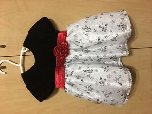 Girl party dress 6-12 months